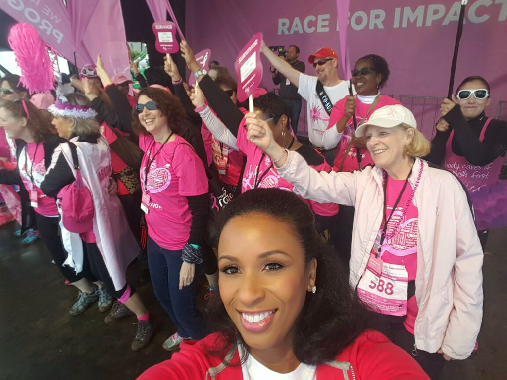 Susan G. Komen Race for the Cure, Saturday, May 7, 2016. (Michelle Marsh/ABC7)