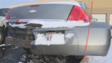 11-year-old totals car in Mishawaka Walmart parking lot