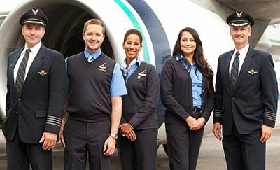 Alaska Airlines uniforms from the 2010s. Photo courtesy Alaska Airlines
