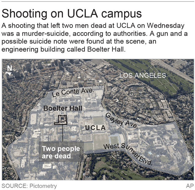 UCLA Goes From Fear To Sadness In Professor's Shooting