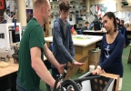 Dylan Whittemore and Katie Renoit Working With Instructor Brad Williams.jpg