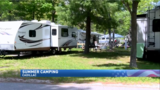 Campers pack parks in northern Michigan for holiday weekend