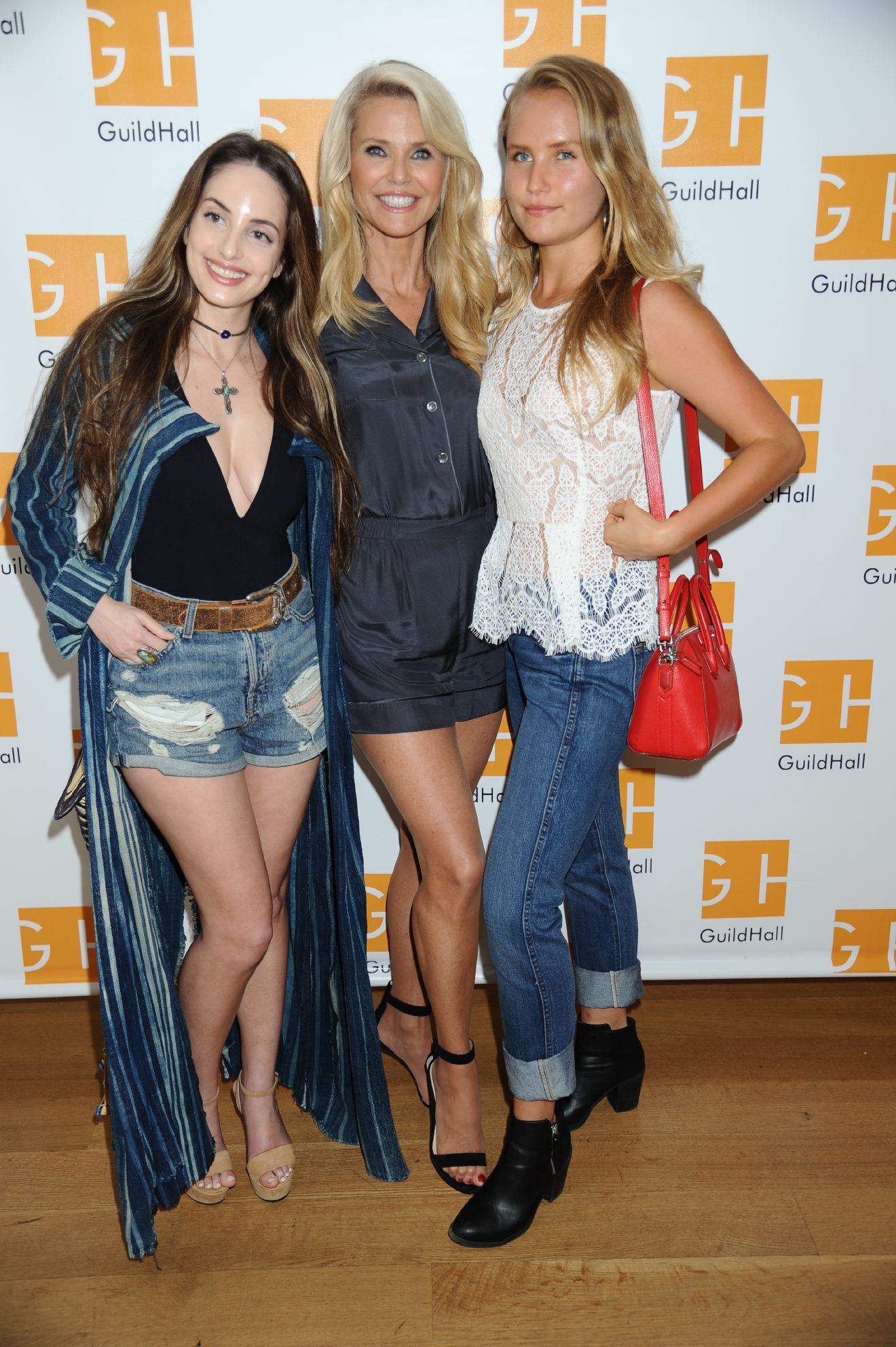 Hampton Comedy Show at Guild Hall                                    Featuring: Alexa Ray Joel, Christie Brinkley, Sailor Cook                  Where: East Hampton, New York, United States                  When: 27 Aug 2016                  Credit: Rob Rich/WENN.com