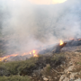 Trout Canyon fire at 50 acres, 70 percent contained; smaller fire near Cold Creek