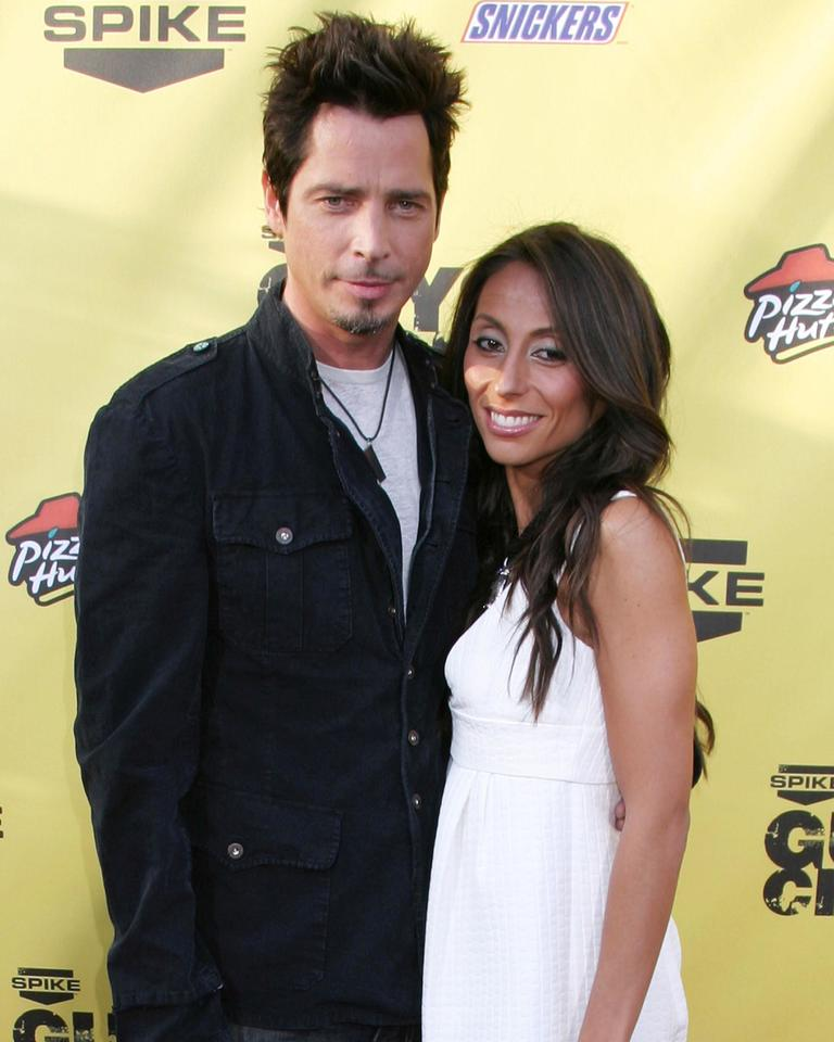 "Chris Cornell and his wife Vicki First Annual Spike TV's ""Guy Choice"" Awards held at Radford Studios - Red carpet arrivals Los Angeles, California - 09.06.07  Featuring: Chris Cornell and his wife Vicki Where: Los Angeles, California, United States When: 09 Jun 2007 Credit: John Cronise/ WENN"