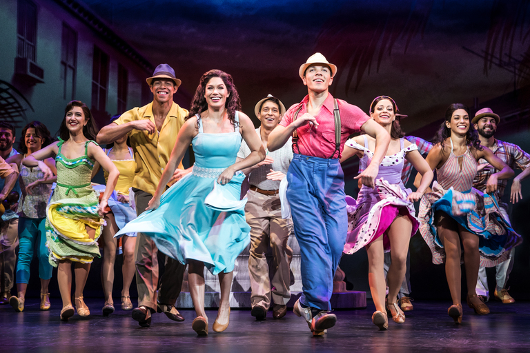 "If you're looking for a creative way to beat the cold this month, we've got a creative suggestion: hit up The Kennedy Center's production of ""On Your Feet!"" now through Jan. 28. How does that warm me up, you ask? 1. You're inside. There's heat. Duh! 2. You will work up a SWEAT dancing in your seat (or the aisles!) to this feel-good story about Gloria and Emilio Estefan's life. Packed with 26 of Gloria's biggest hits, alongside jaw-dropping dance moves -- not to mention the uplifting undercurrents of romance, entrepreneurial drive and (highly relevant) messaging of what an American looks like -- you can't help but leave the theater lighter than when you came in. (Image: Matthew Murphy)"