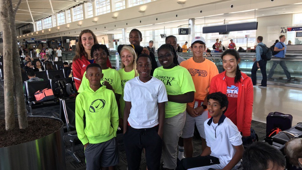 Florence students competed in games affiliated with the Olympics ...