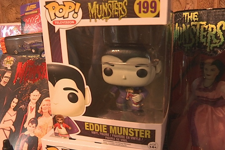 Eddie Munster as a bobble-head