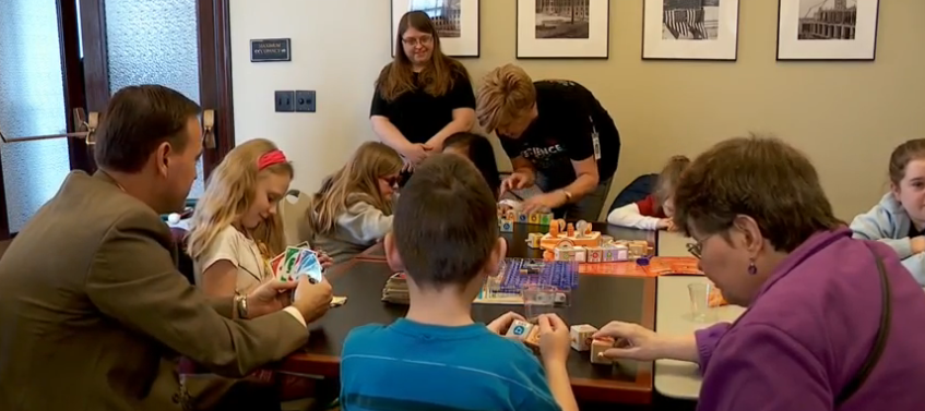 Utah School for the deaf and blind take the classroom to State Capitol (Photo: KUTV)
