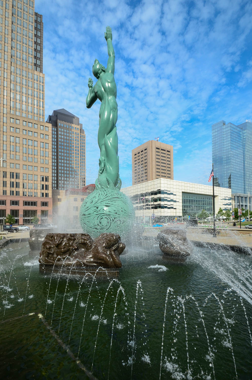 Cleveland isn't so bad! Just take a look at the Fountain of Eternal Life! / Image: Sherry Lachelle Photography