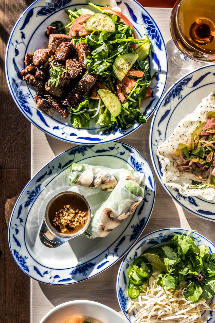 They also serve vegan and vegetarian specialties, as well as Vietnamese sodas and Lang Thang Coffee from Vietnam. / Image: Catherine Viox // Published: 12.28.19<p></p>