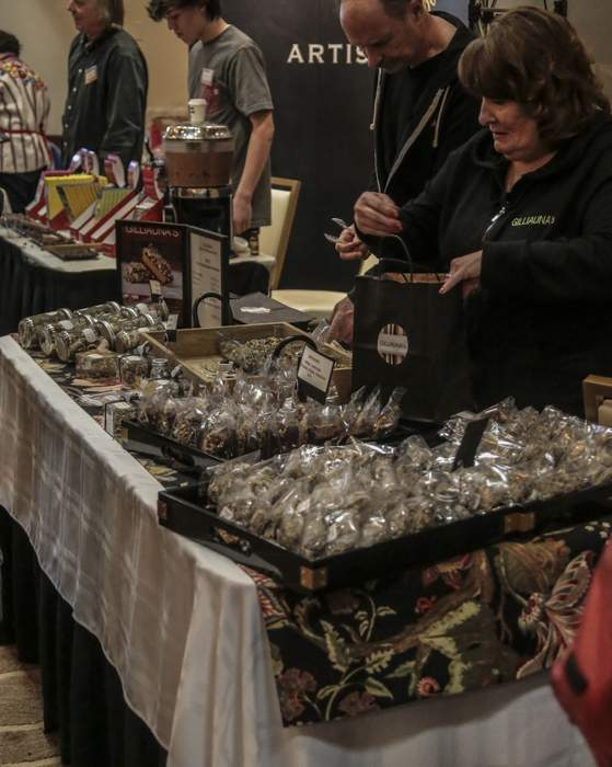 The 13th Annual Oregon Chocolate Festival at the Ashland Hills Hotel. [ // PHOTOS BY: LARRY STAUTH JR / FOR THE DAILY TIDINGS]
