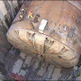 'Bertha'several inches off course as machine gets ready to dig final 1,000 feet of tunnel