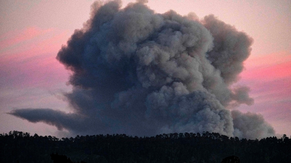 california wildfires burn near los angeles and big sur kgbt