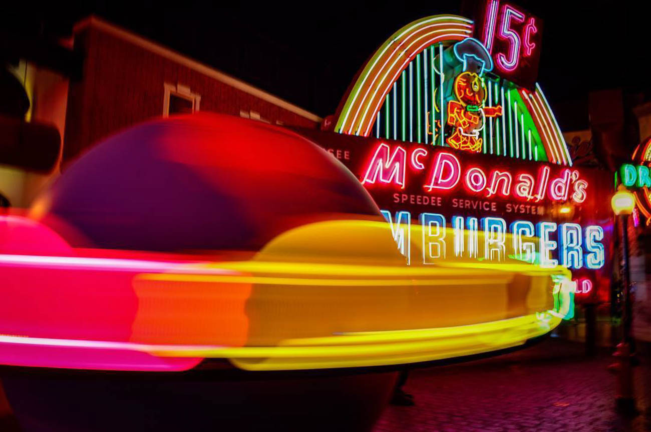 The American Sign Museum is always illuminated and photogenic. / Image courtesy of Instagram user @mightymurray // Published: 3.20.19