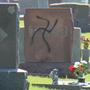 Cemetery vandalized with swastikas in Glen Carbon