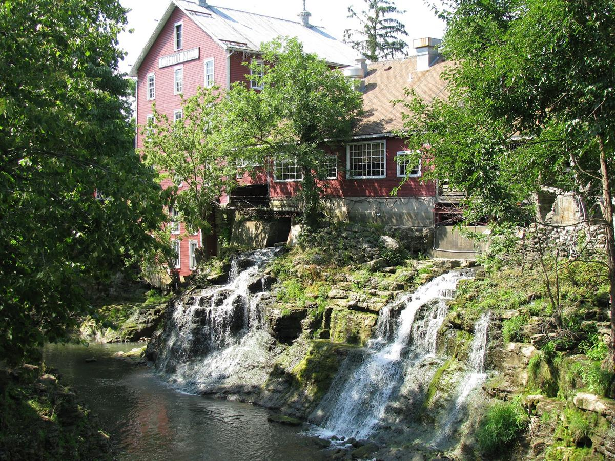 Clifton Mill, originally built in 1802 and currently known for some pretty epic southern-style breakfasts.                  --                  With gorgeous cliffs towering above the Little Miami River and a solid reputation for both wilderness and hospitality, this historic village is definitely a weekend-worthy destination. And, wonderfully enough, it's only a 90-minute drive away. [Image courtesy of the Village of Clifton]