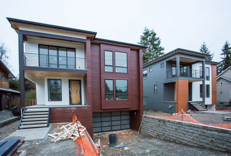 House A - Architect: Jim Dwyer Builder: BDR Homes (Image Courtesy of Ken Shallcross).