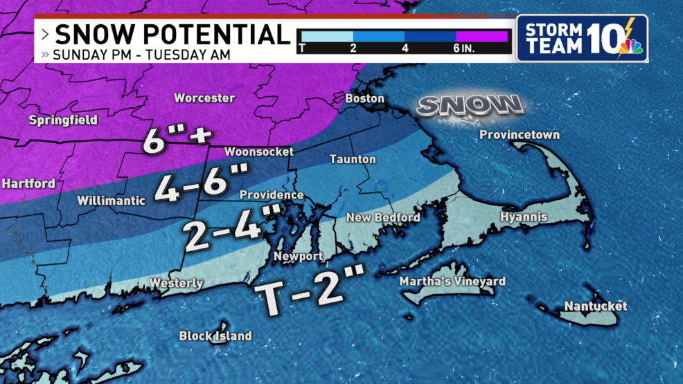 Accumulating snow will impact travel Sunday afternoon through early Tuesday