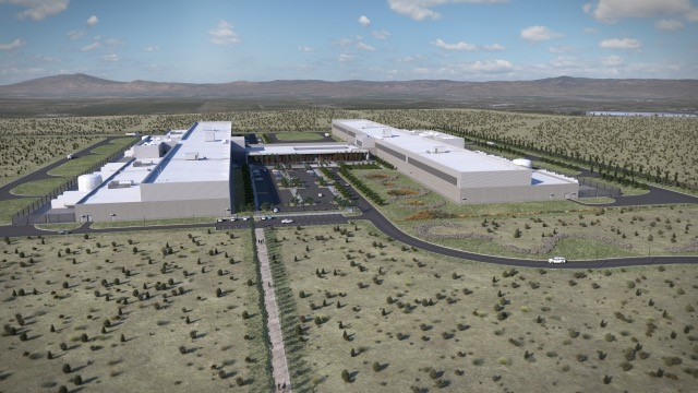 Facebook will be adding two new buildings to its Prineville Data Center. It will break ground on the buildings in December 2017 and January 2018. Photo courtesy{&amp;nbsp;}Weinstein PR{&amp;nbsp;}<p></p>