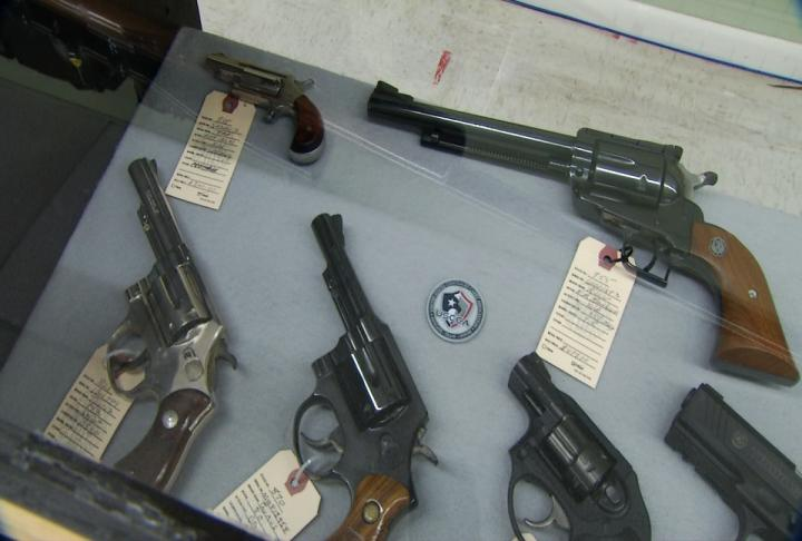 Firearms at Fruitful Seasons, Pistol Packing in Henderson County. (Photo Credit: WLOS Staff)<p></p>