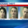 Three men, teen charged with stealing packages off of porch