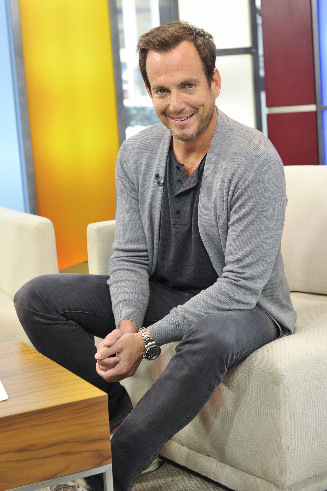 Will Arnett appears on Global TV's The Morning Show to discuss his Netflix series 'FLAKED'.  Featuring: Will Arnett Where: Toronto, Canada When: 04 Mar 2016 Credit: Dominic Chan/WENN.com