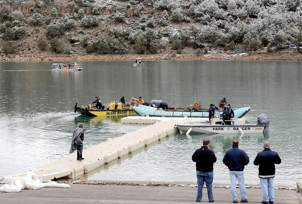 Gadsden plane crash recovery efforts in Colorado, Thursday, March 27, 2014.