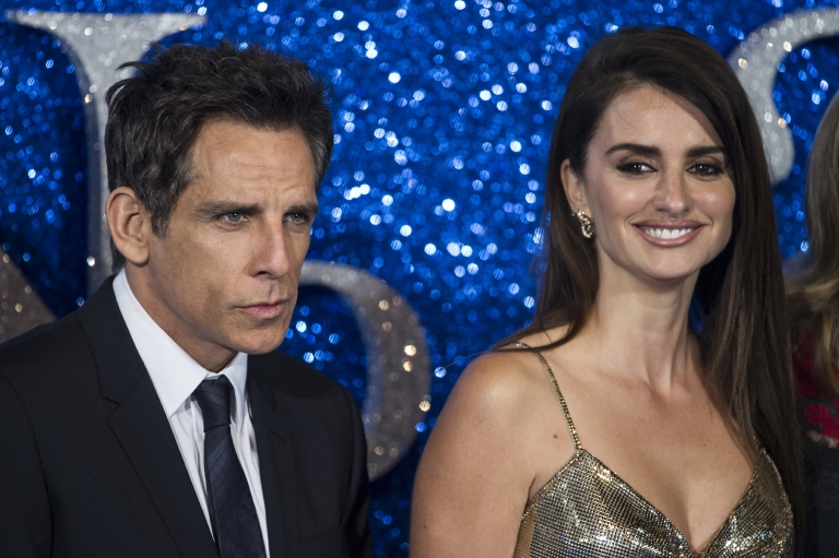 "Ben Stiller and Penelope Cruz attend the ""Zoolander 2"" U.K. premiere in London on Feb. 4, 2016. (Euan Cherry/WENN)"