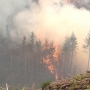 750 acre fire west of Cottage Grove has the 'recipe of a tough fire'
