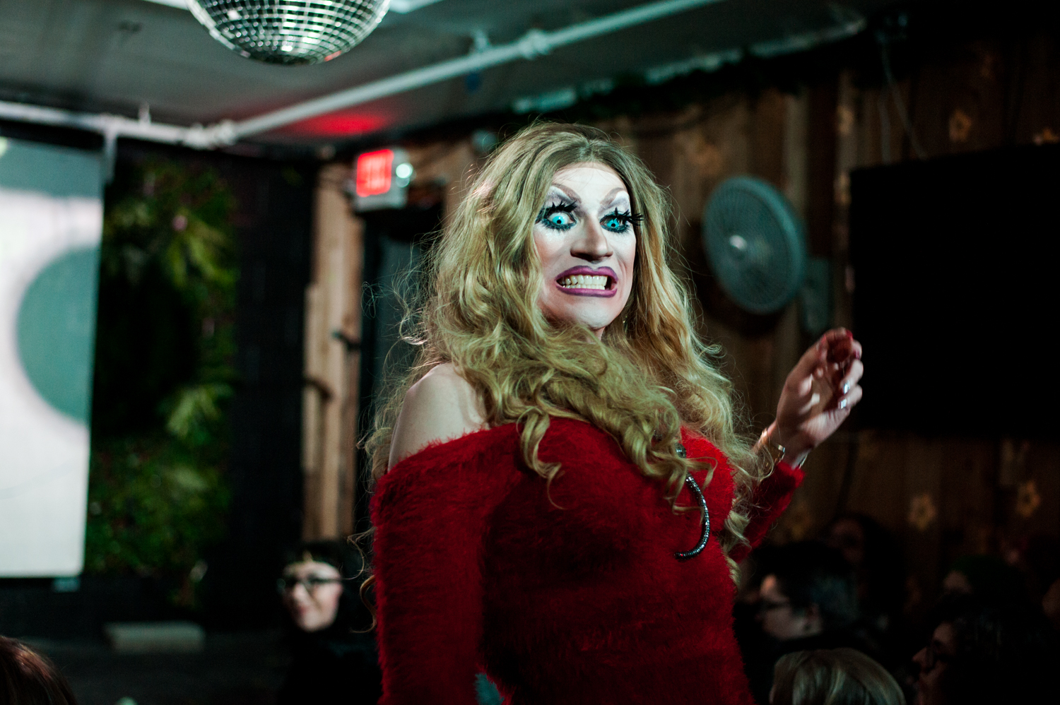 WEIRD presents a drag tribute to Buffy the Vampire Slayer Hosted by Old Witch and Londyn Bradshaw at Kremwerk in Seattle. (Image: Elizabeth Crook / Seattle Refined)