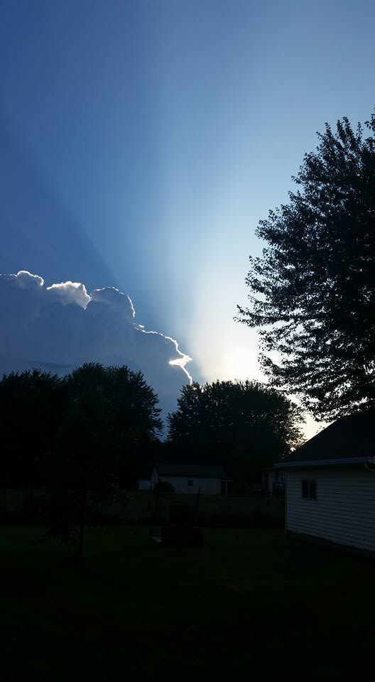 Aug. 14: Bear Creek, WI (Submitted by Julie Fry)