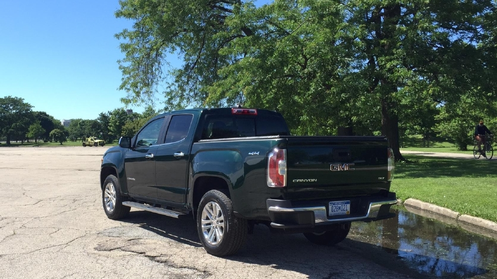 2015 Gmc Canyon A Pickup Truck With Suv Drivability Wach
