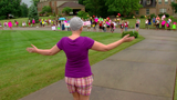Ohio neighborhood celebrates woman's last chemo treatment