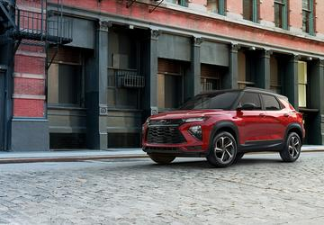 2021 Chevrolet Trailblazer returns and follows Blazer and Camaro's path