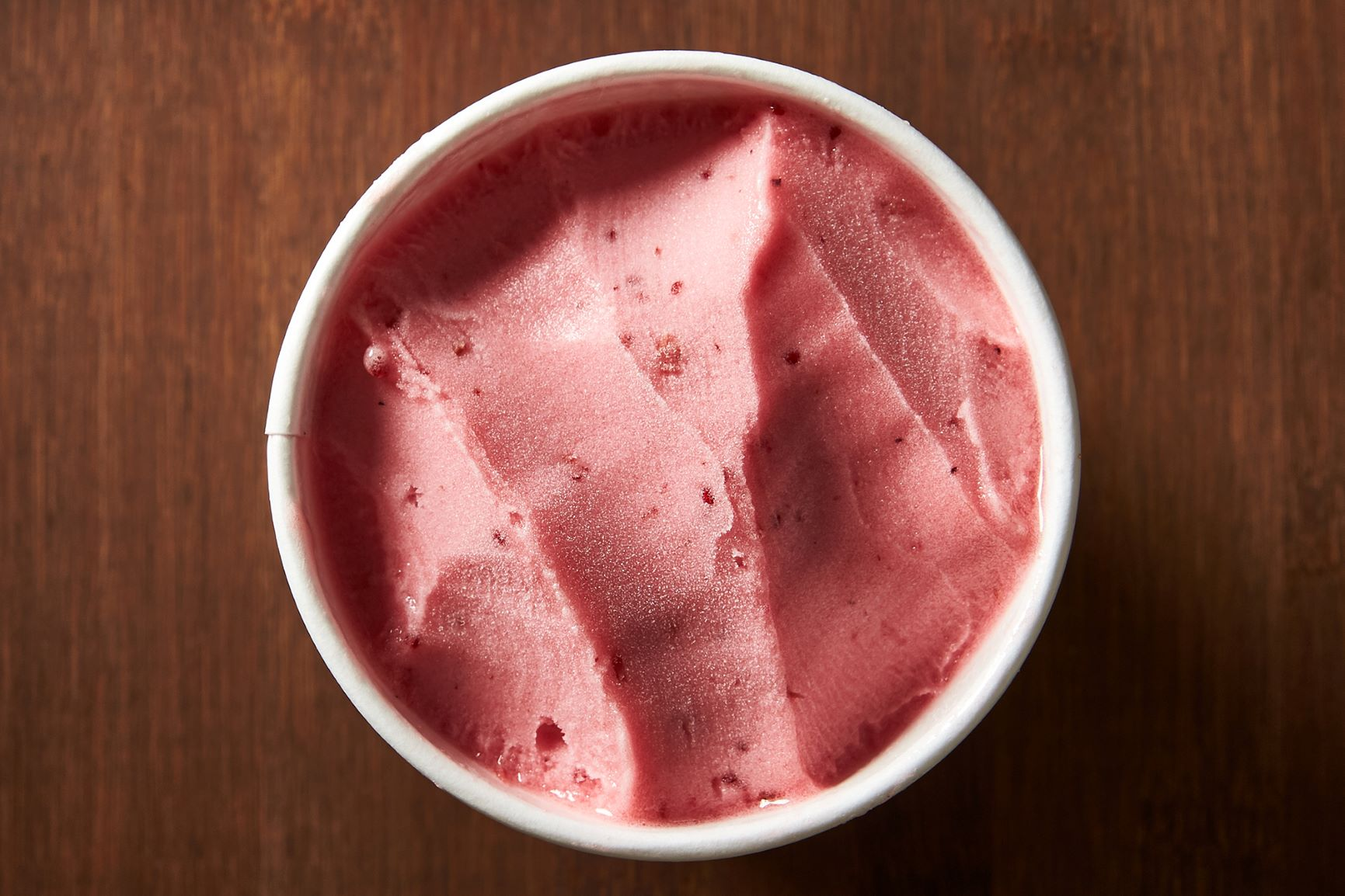 Cranberry Juniper Sorbet (vegan) (Image: Salt & Straw)