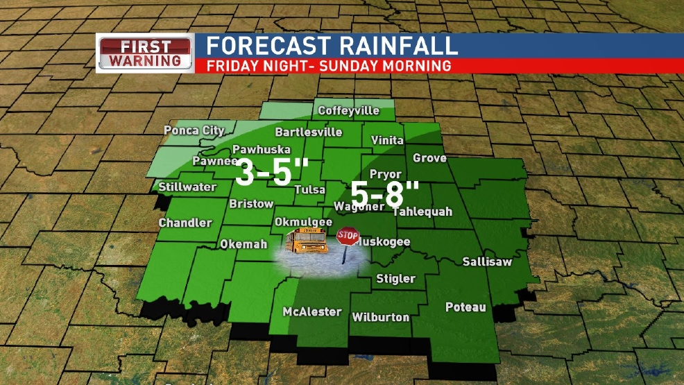 Dangerous Flooding Possible this Weekend