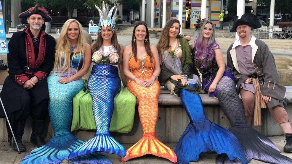Oregon mermaids host 'Merfest' to promote conservation   KPIC