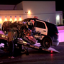 Officer responding to crash hospitalized after rear ending 18-wheeler