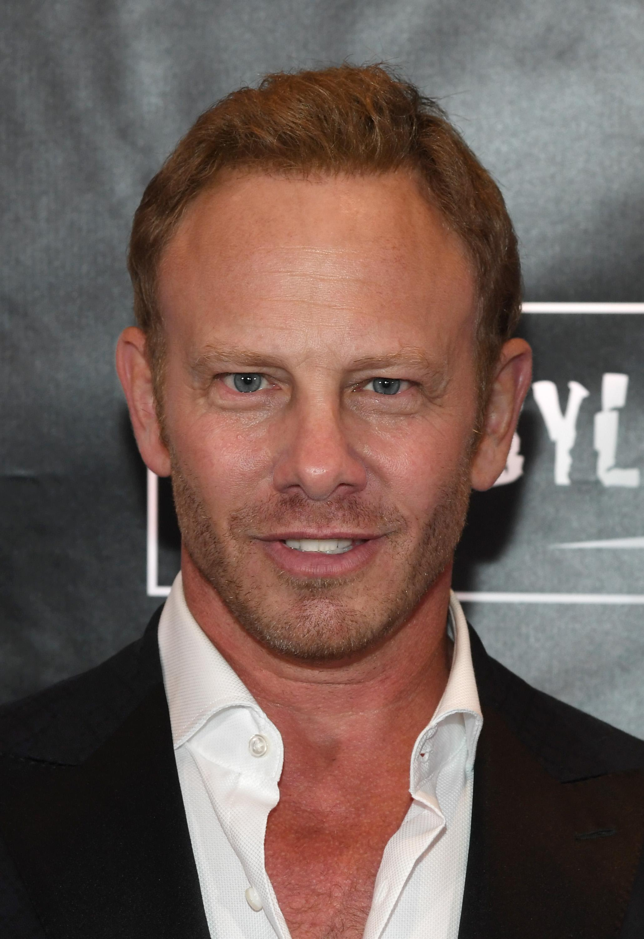 "LAS VEGAS, NV - AUGUST 06:  Ator Ian Ziering attends the premiere of ""Sharknado 5: Global Swarming"" at The LINQ Hotel & Casino on August 6, 2017 in Las Vegas, Nevada.  (Photo by Ethan Miller/Getty Images for Caesars Entertainment )"