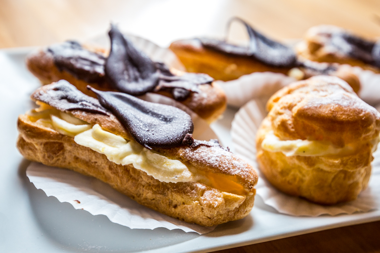 Eclairs and cream puffs / Image: Catherine Viox{ }// Published: 8.5.19