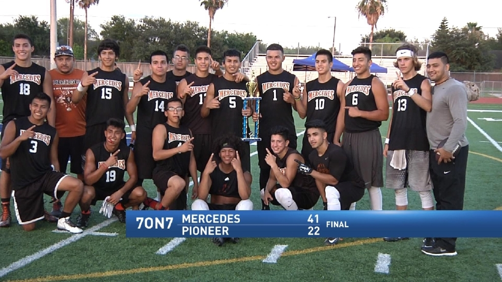 Mercedes 7on7 Stays Perfect, Wins Tourney Behind Backup QB