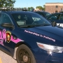 Police departments go pink for breast cancer awareness month