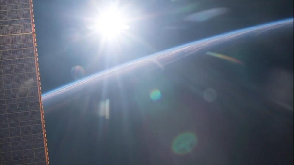 sunrise from international space station - photo #21