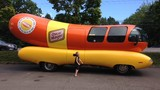 Wienermobile makes a stop in Beaverton
