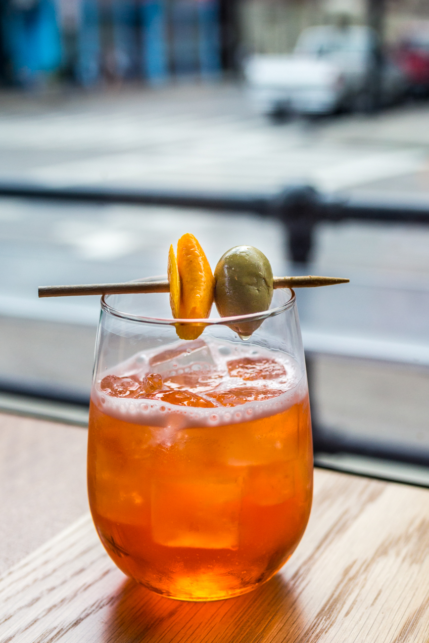 House Spritz: Amaro liqueur, prosecco, and soda / Image: Catherine Viox // Published: 7.12.19