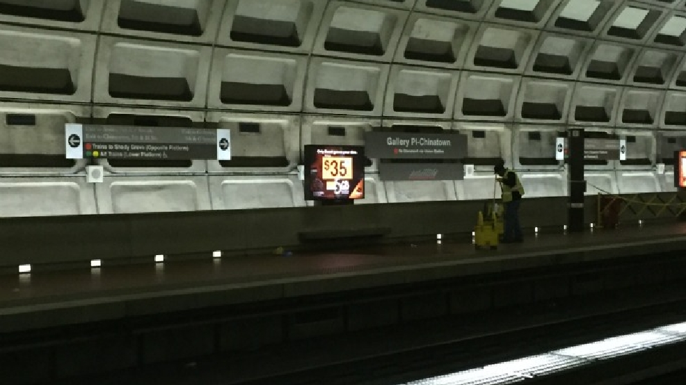 man stabbed on platform of gallery place metro station