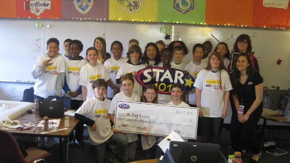 STAR's Teacher of the Week: Ms. Mary Runions