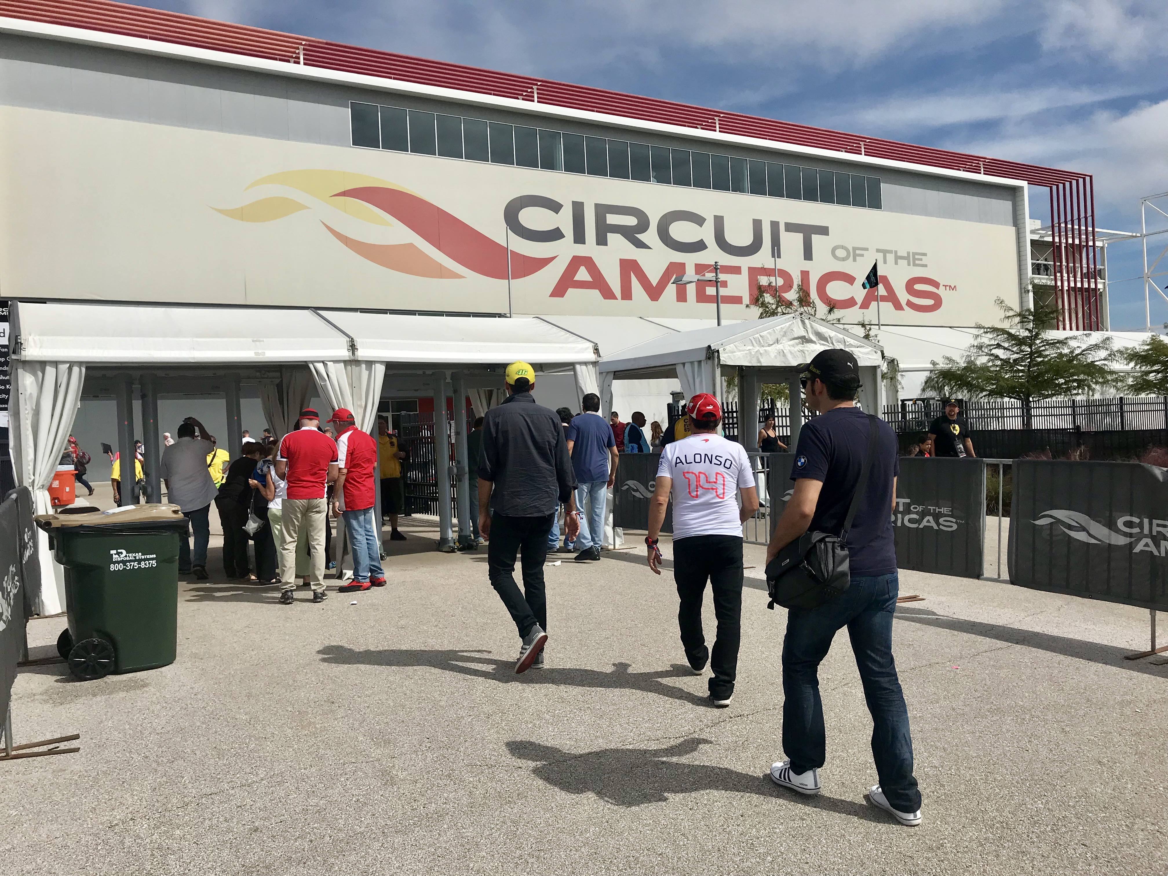 Circuit of the Americas hosts the US Grand Prix for the sixth year. (Photo:Bettie Cross)