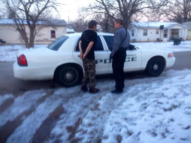 OBN, Garvin County Sheriff and Lindsay PD serving multiple search and arrest warrants for conspiracy to distribute methamphetamine Wednesday morning.